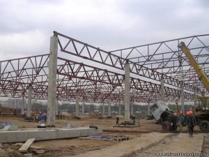 Обследование несущих стальных конструкций