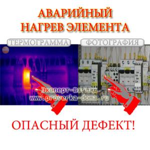 проверка электрощитов с помощью тепловизора
